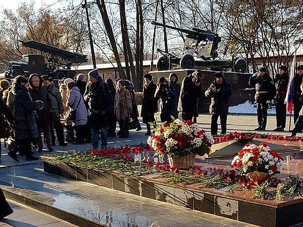Митинги состоялись в честь 77-й годовщины Битвы за Москву