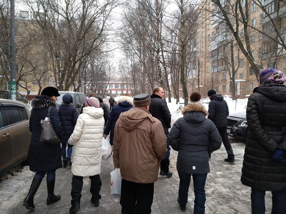 Михаил Довбня 9 февраля посетит двор в Измайловском проезде