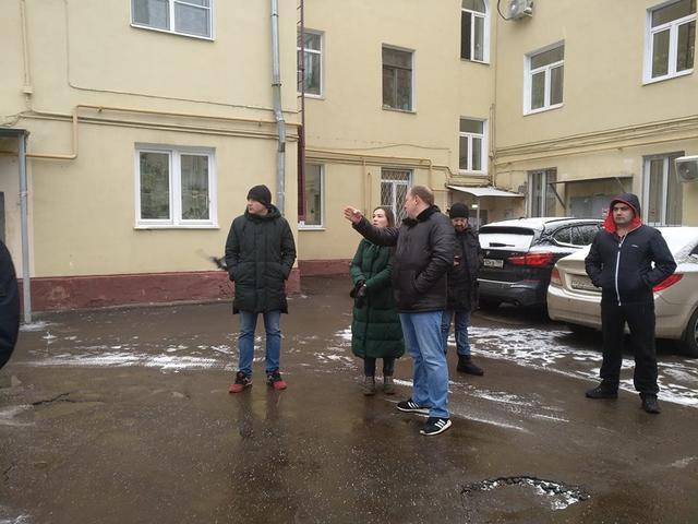 Глава управы пообщается с жителями дома на 8-й Парковой