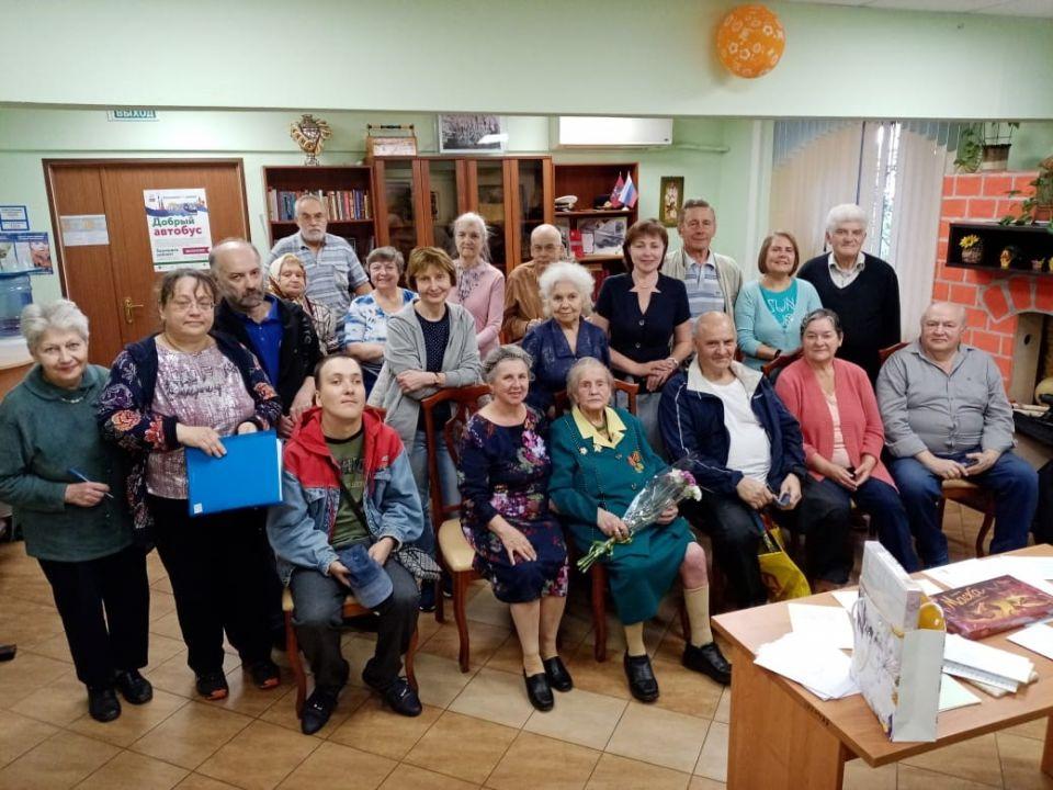 Измайловцы встретились с ветераном Великой Отечественной войны